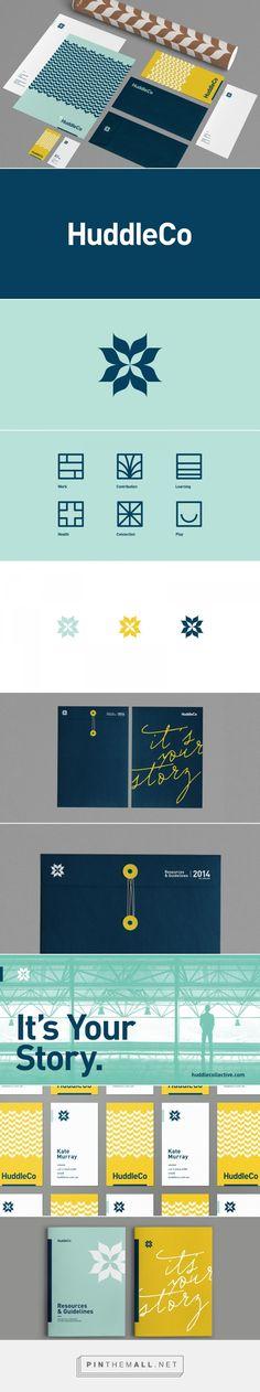 Huddle Co. Branding by Mast | Fivestar Branding – Design and Branding Agency & Inspiration Gallery