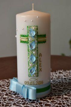 Blue Ribbon Baked Cross