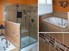 Earthtone Master Bathroom Retreat