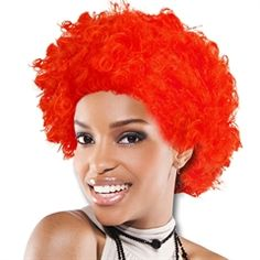 Red Team Spirit Wig from Windy City Novelties