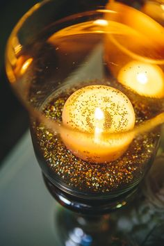 Glitter in Vases - Elizabeth Anne Designs: The Wedding Blog
