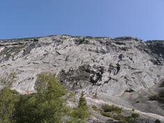 Bergheimat: ' Auf leisen Sohlen ' an der Tratenwand