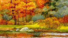 Autumn River Side Trees Wallpaper HD For Desktop Mobile Macbook Wallpaper, Tree Wallpaper, Wallpaper Iphone Cute, Leaves Wallpaper, Widescreen Wallpaper, Wallpaper Backgrounds, Wallpapers, Autumn Trees, Autumn Leaves