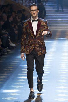 Dolce & Gabbana | Menswear - Autumn 2017 | Look 33
