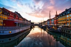 Top Photo Spots in Copenhagen — Jim Nix - Travel Photographer Oh The Places You'll Go, Great Places, Places To Travel, Beautiful Places, Places To Visit, Travel Destinations, Colourful Buildings, Colorful Houses, Biarritz