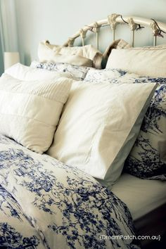 I have this bedding! Love it! Shabby chic!
