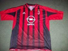 bc4f6711f7a 2004 2005 AC Milan Home Football Shirt Adults XXL Maglia Italy Classic  Football Shirts
