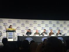 """Liz Ponce on Twitter: """"The panelists for #TheTwilightZone, the executive producers, writers and composers #WCA2019… """""""