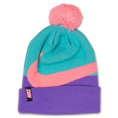 5ad171bb2d8 Kids  Nike Swoosh Pom Beanie Hat