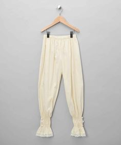 Off White Lycke Trousers - Infant, Toddler & Girls