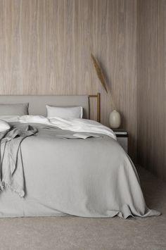 Norm Architects for DUX - bedroom - Minimalismus Headboard Designs, Bedroom Wardrobe, Romantic Bedroom, Bedroom Design, Bedroom Inspirations, Romantic Bedroom Decor, Bed, Zebra Bedroom, Norm Architects