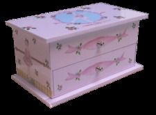Jasmine Pink Musical Jewelry Box Jewelry Box Avenue only 3499