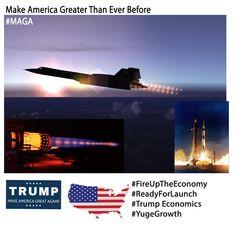 #Trump2016 Make America Greater Than Ever Before |#FireUpTheEconomy |#TrumpEconomy | #YugeGrowth | #OnlyTrump #MAGA