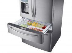 Geladeira/Refrigerador Samsung Automático 4 Portas - French Door 632L Inox Sparkling RF31FMESBSL/AZ
