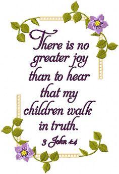 3 John 4:4