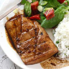 Grilled Honey Ginger Glazed Mahi Mahi Recipe on Yummly