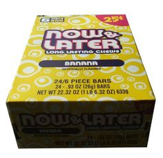 BESTSELLER! Now and Later Banana Flavored Candy F... $8.02