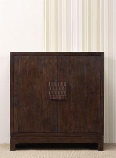 www.livinghome.nl info@livinghome.nl €682,- #kast #bruin #hout #interieur