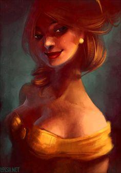 Belle - Loish