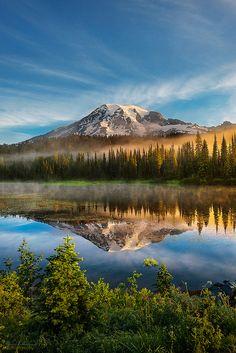 Mount Rainier National Park, Washington; photo by .RyanManuel*