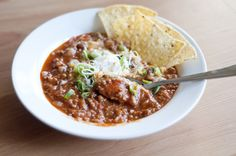 a mix & matchy blog: basic chili with kidney beans