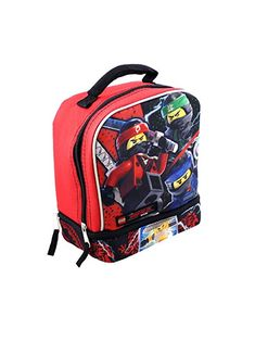 DC Batman Boys School Backpack Lunch Box Book Bag 5 Piece Water Bottle Gift Toy