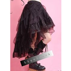 Victorian Gothic Lolita Steam Punk Fashion Skirts - Liquiwork