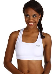 Finally, a bra w/ a place to stash your money, keys, cell phone, & Chapstick WHILE YOU WORKOUT: The North Face Stow-N-Go High Impact Bra. Makes sense!