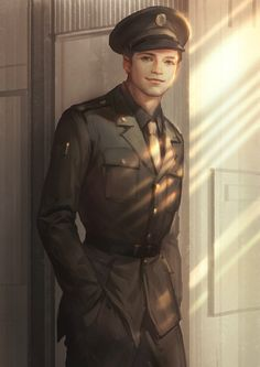 """One day, Nat finds old pictures of Bucky in his WWII out fit and convinces him to try it on again. """"You look good, milhi moy."""" """"Just good, Tasha?"""" She smiles. """"Like a man again, instead of a weapon."""""""