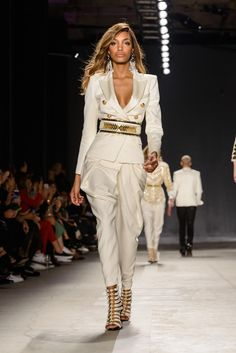Photos from the Epic Balmain x H&M Collection Launch Party Featuring the Backstreet Boys - Jourdan Dunn
