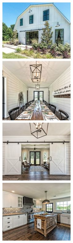 One of Joanna Gaines favorite projects from season three (you may remember it from episode six), the famous barndominium in Waco, Texas is now available to rent through HomeAway. Adding Fixer Upper style to your home is a good idea, but spending the night Fixer Upper Barndominium, Barndominium Floor Plans, Modern Farmhouse, Farmhouse Style, Farmhouse Decor, Farmhouse Lighting, Farmhouse Bathrooms, Farmhouse Renovation, Farmhouse Interior