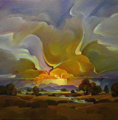 "Contemporary Painting - ""Global Warming"" (Original Art from Mac Stevenson)"