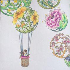 Girl In Flower Ball