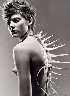 'Spinal, Version 4,' Wearable Sculpture by Patrick Veillet