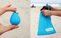Stop everything else in your gym bag from getting smelly and damp. http://greatist.com/live/matador-droplet-wet-bag-holds-all-your-sweaty-gym-clothes