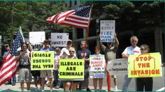 Illegal Immigration 'Nationwide Protest' ~Update! Stop The Invasion! 7/1...
