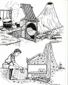 Good idea for a camp and cook fire? The Effective Pictures We Offer You About Camping Survival women A quality picture can te Bushcraft Camping, Camping Survival, Outdoor Survival, Camping Hacks, Camping Cooking, Survival Life Hacks, Survival Tools, Survival Prepping, Homestead Survival