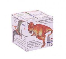 Zoobookoo Kniha v kocke Dinosaury Tyrannosaurus