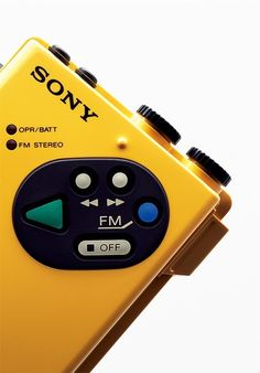 Celebrating six decades of innovation with a retrospective tome of Sony's greatest hits. - Diana Budds's Remember the Walkman? These Photos of Retro Sony Electronics Are a Blast from the Past design collection on Dwell. Vintage Design, Retro Design, Vintage Ads, Radios, Sony Design, Ui Design, Sony Electronics, Electronic Devices, Audio Equipment