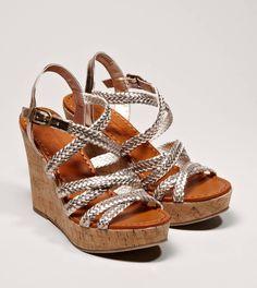 AEO Braided Wedge Sandal