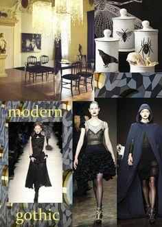 #moderngothic #modern #gothic #moodboard