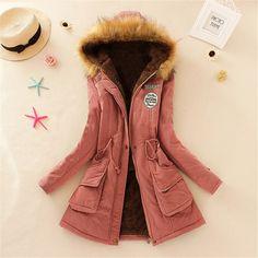 Tienda Online Kuk 13 Color Invierno Jacket Women Coat Parka Casaco Feminino Inverno Jaqueta Feminina Mujer Chaqueta 3XL Más El Tamaño de Vestir Exteriores A695   Aliexpress móvil