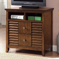 New Glass Front Tv Cabinet