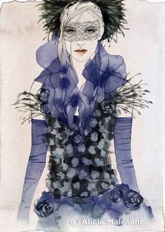 CHANEL Fashion Illustration