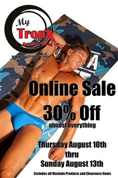Online Sale: 30% off all products excluding Maskulo and Clearance items.