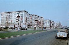 1955 Ost-Berlin Marx Allee