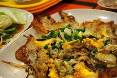 Thailand: Hoy Tod (Oyster Omelet) | 20 Foods To Drunkenly Eat When You're Abroad