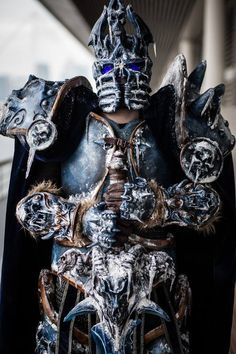 UK- Wrath Creation as The Lich King (Arthas) from World of Warcraft – avec Wrath Creation Studios.