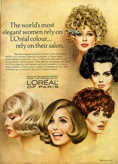 Loreal hair color 1969-pin it by carden