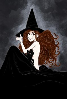 Witch. Art Print